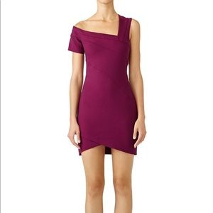 Cinq a Sept purple mini dress